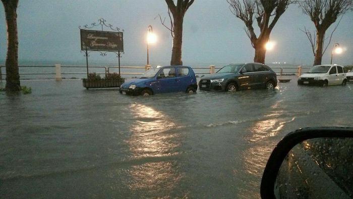 Diluvio in provincia di Trapani, in poche ore 150 millimetri di acqua