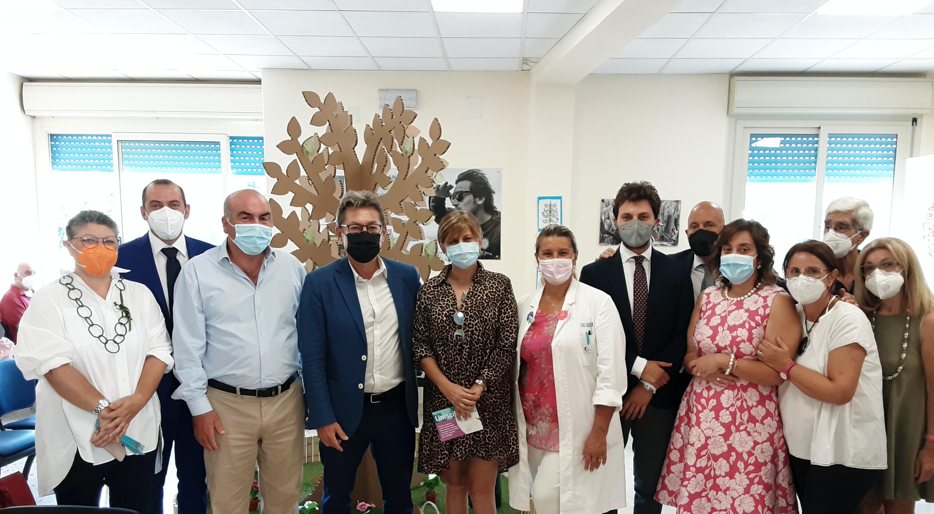 """Palermo, Associazione Acto Sicilia: installato all'ospedale Civico  """"L'albero  delle idee"""""""