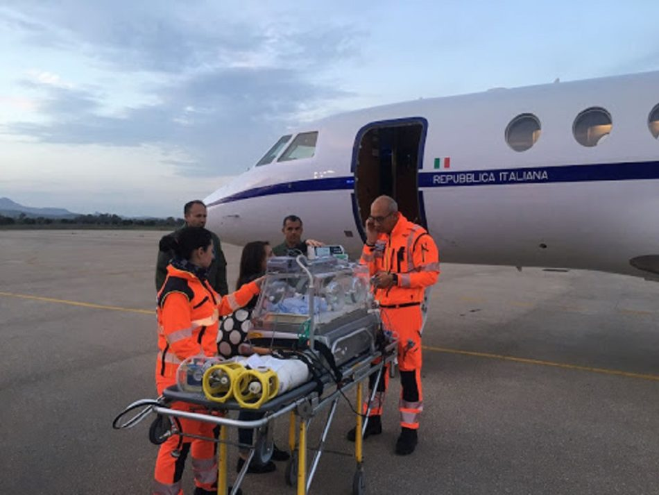 Volo militare per trasferire un bimbo di Palermo all'ospedale di Genova