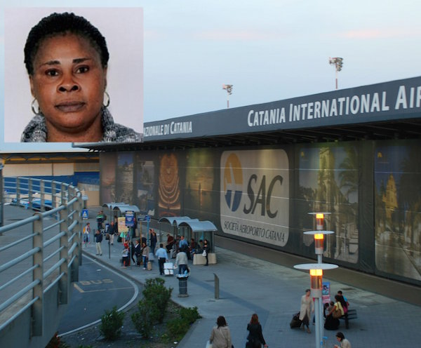 Catania, in aeroporto con un passaporto falso: arrestata