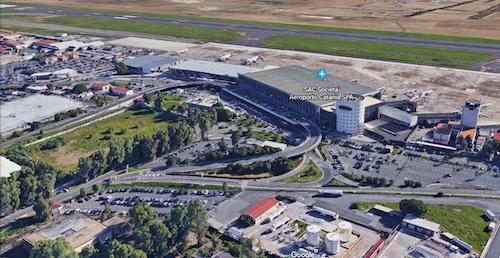 Lavori all'aeroporto di Catania, la rampa partenze chiusa ai mezzi privati
