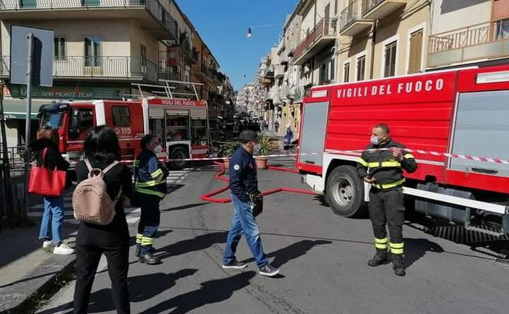 Esplosione in una lavanderia a secco ad Agira: nessun ferito