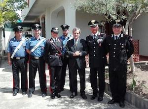 Aperta la caserma stagionale dei carabinieri ad Agnone Bagni