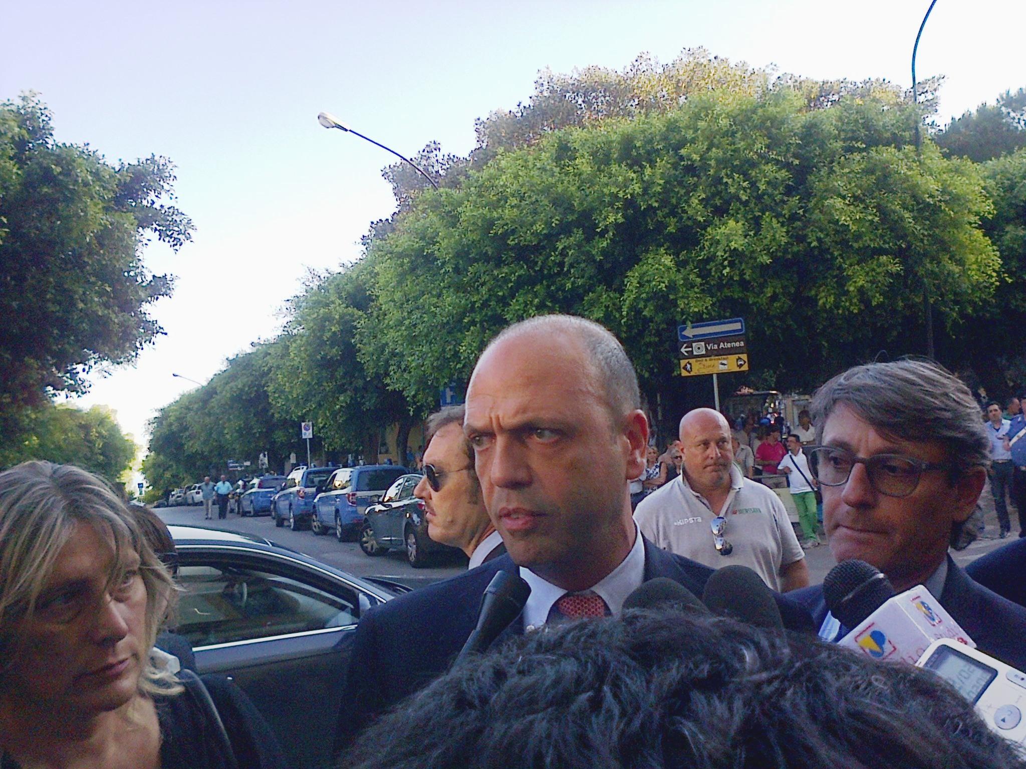 """Forum italo-libico ad Agrigento, Alfano: """"Segno d'unità"""""""