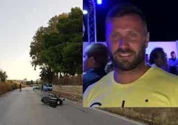 Agrigento, perde il controllo della moto e cade: morto sul colpo