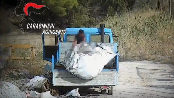Discarica a Porto Empedocle, 22 persone denunciate a piede libero