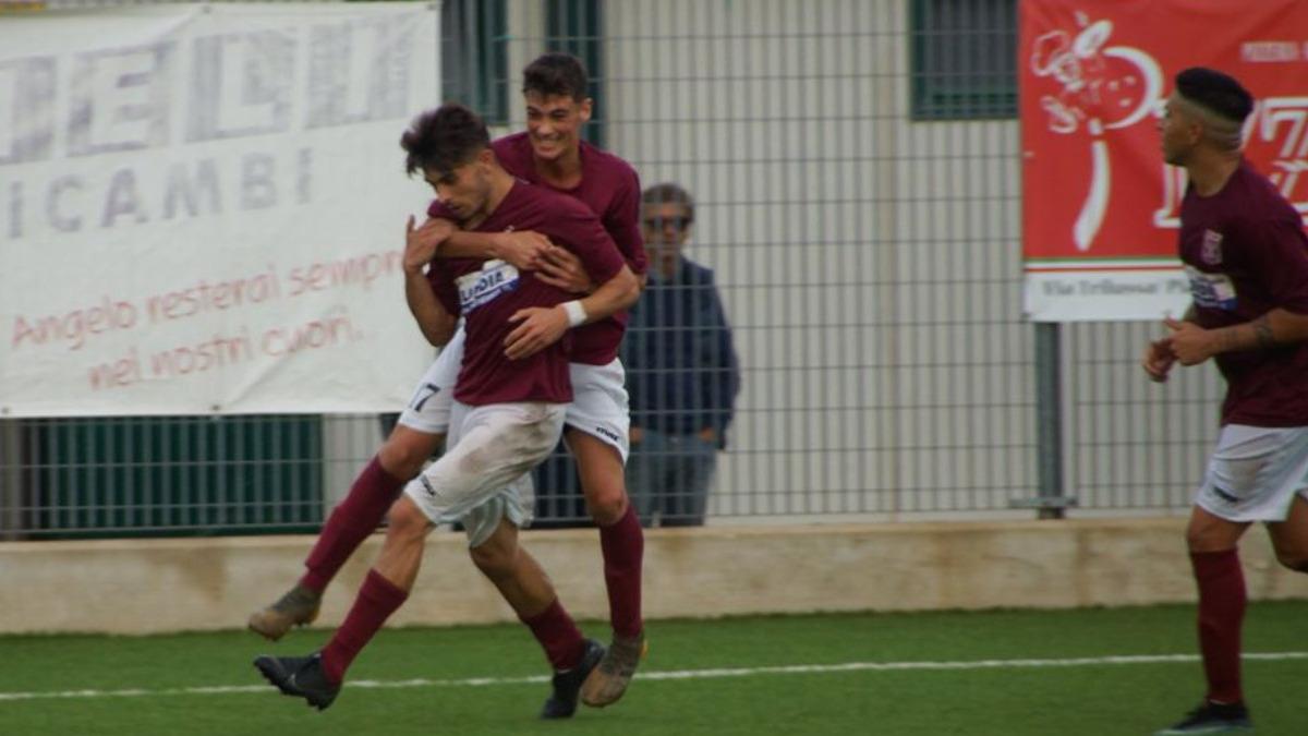 Non si ferma il sogno del Rosolini: messo sotto anche il Pedara con un gol di  Agudiak