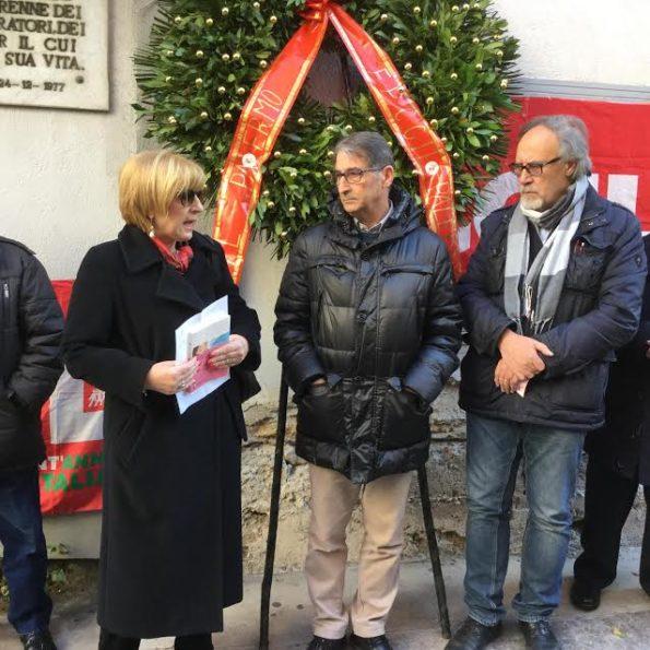 Commemorato Aiello a Palermo, sindacalista fa outing: