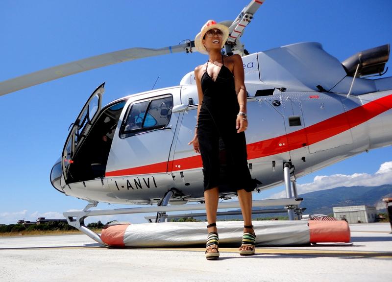 Air Panarea potenzia la flotta degli elicotteri: transfert da Roma e Catania
