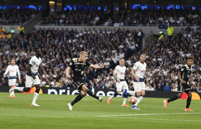 Champions League, l'Ajax vince a Londra col Tottenham: finale a due passi