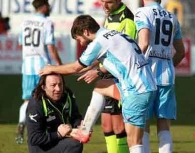 Due rigori non bastano al Catania battuto nel derby dall'Akragas per 2 a 1