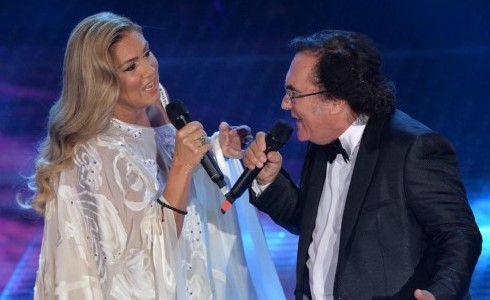 Al Bano e Romina Power insieme al Teatro Antico di Taormina
