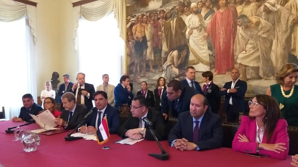 Gemellaggio e cooperazione tra Comune di Catania ed Alessandria d'Egitto