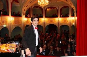 Ragusa, al teatro di Donnafugata il concerto del pianista Alessio Cappello