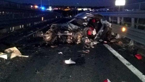 L'incidente sull'asse attrezzato di Catania, non rischiano i bimbi feriti
