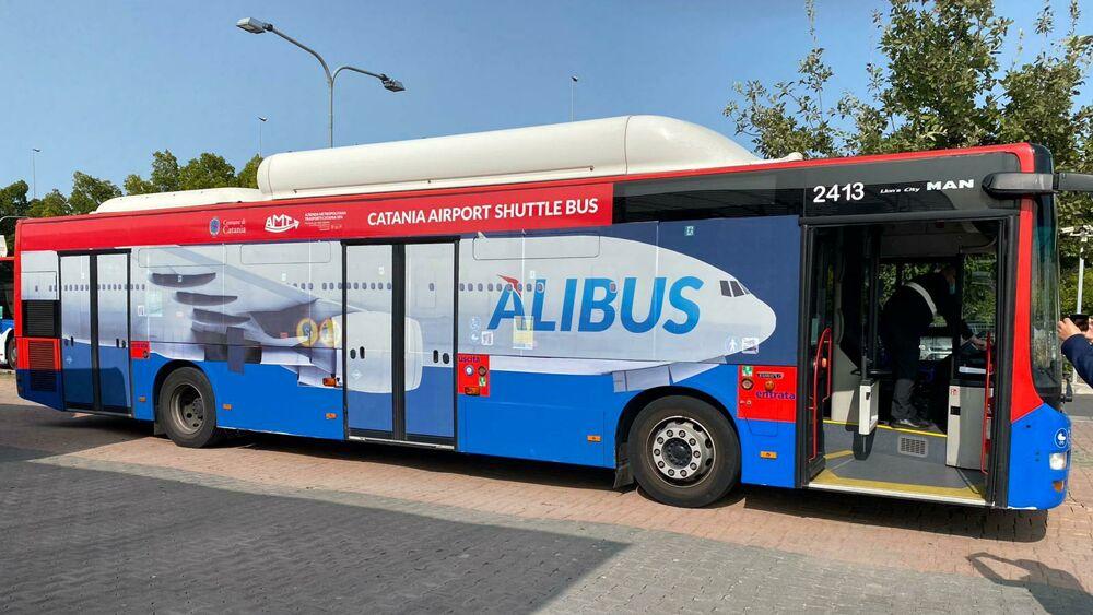 Trasporti, Amt: nuovi Alibus e navetta per l'aeroporto di Catania