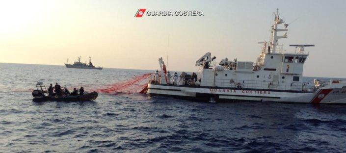 La Guardia costiera sequestra 350 chili prodotti ittici ad Alicudi