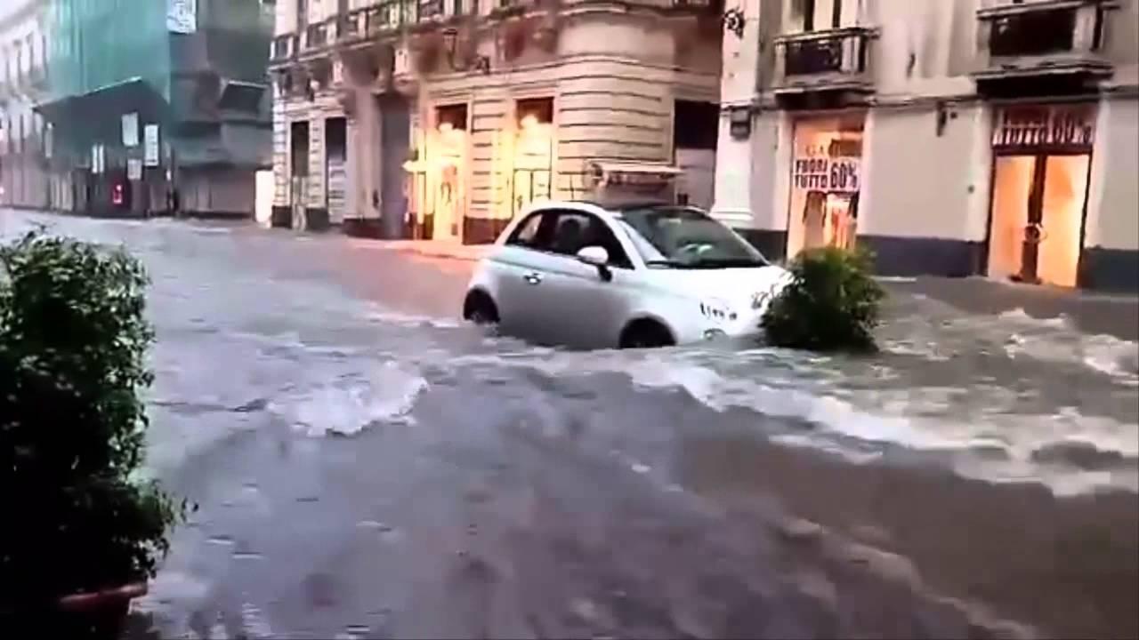 L'alluvione nel Catanese, 1,3 milioni dalla Regione per la viabilità