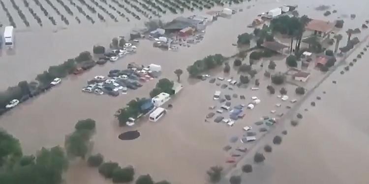Giunta regionale approva declaratoria per 7 province colpite da alluvione