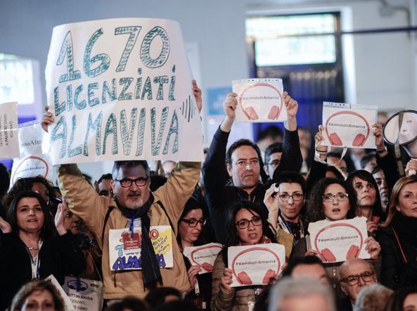 Almaviva, salvati tremila posti di lavoro:  1670  soltanto a Palermo