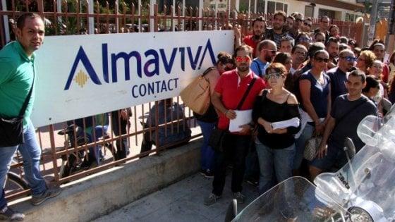Almaviva, a Palermo l'82% dei lavoratori dice sì all'accordo con l'azienda