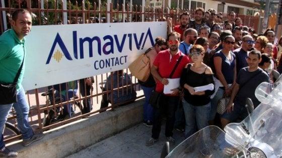Palermo, accordo ad Almaviva su ammortizzatori ed esodi incentivati