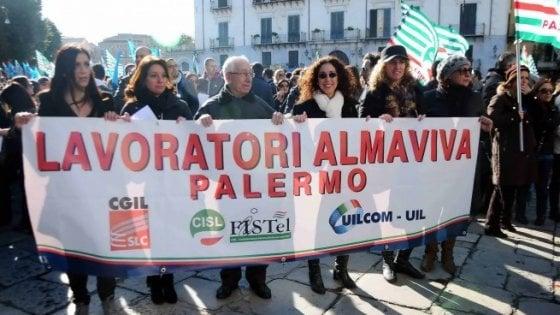 Almaviva, appello dei lavoratori a Ita: rischiamo di perdere il posto