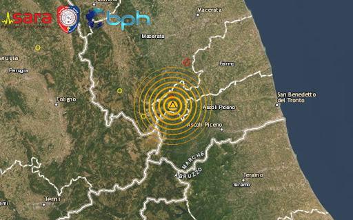 La terra trema nelle Marche, terremoto di magnitudo 3.6 ad Amandola
