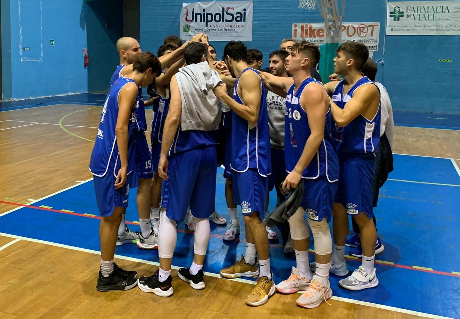 """Basket, serie C Silver: la Virtus Ragusa comincia bane e batte """"a domicilio"""" Amatori Messina"""