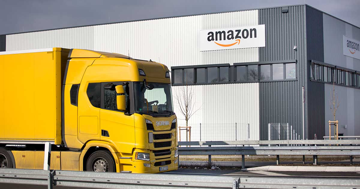 Amazon apre un deposito per la logistica a Catania
