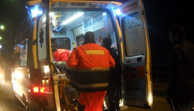 Incidente sulla strada per Floridia, motociclista 39enne finisce in ospedale