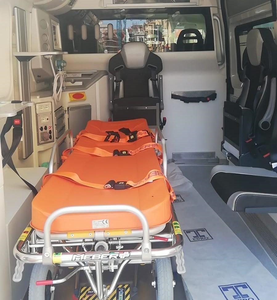 Consegnata all'Asp di Siracusa nuova ambulanza di ultima generazione