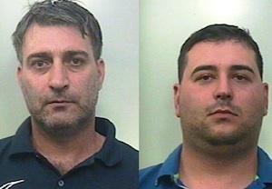 """Biancavilla, arrestati  dopo avere intascato 1100 euro di """"pizzo"""""""