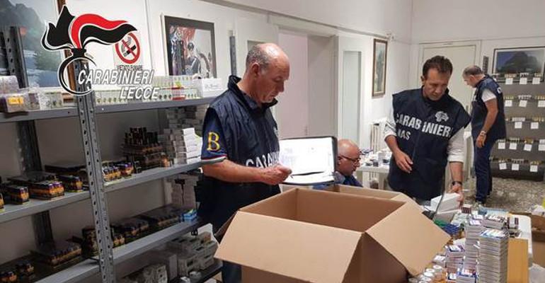 Anabolizzanti: maxi sequestro a Lecce, 5 arresti dei carabinieri