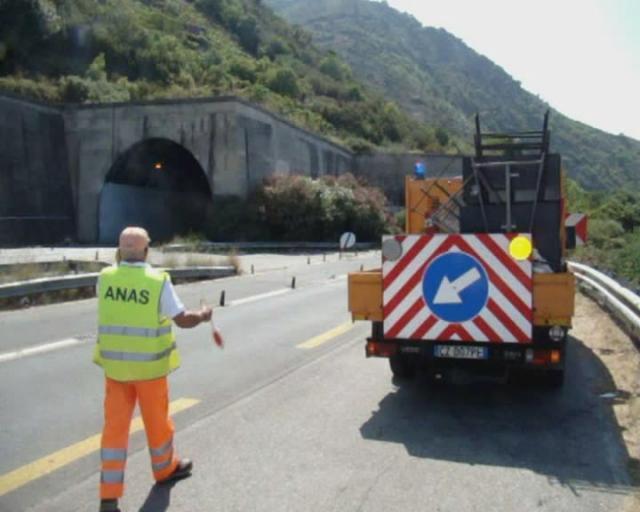 """Lavori al viadotto """"Morello"""",  interrotta la Enna - Caltanissetta"""