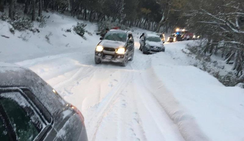 Anas libera dalla neve le strade provinciali a Piano Battaglia