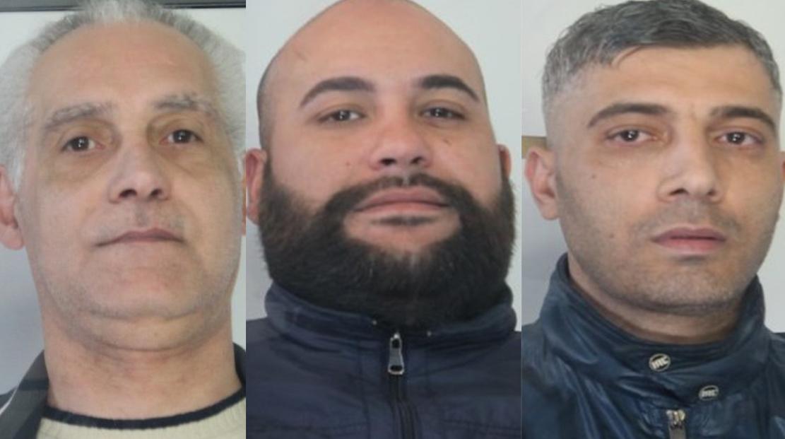 Catania, in carcere tre trafficanti di droga per scontare le condanne