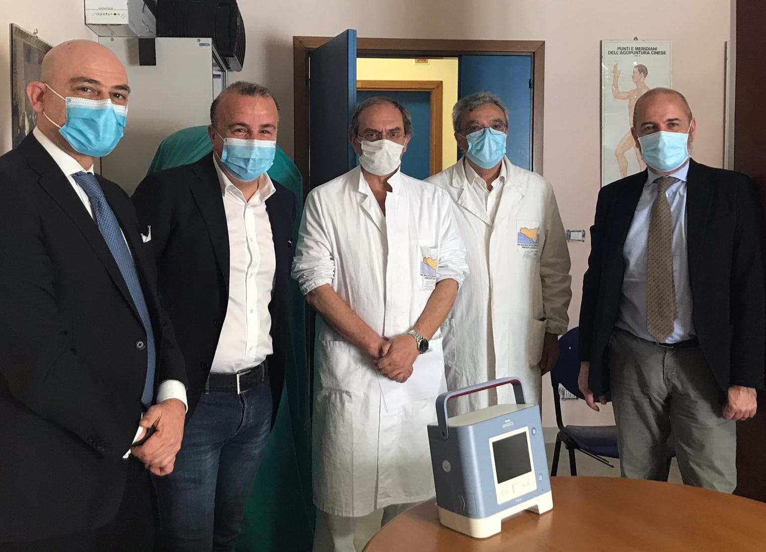 Modica, all'ospedale un ventilatore polmonare donato dall'Ance