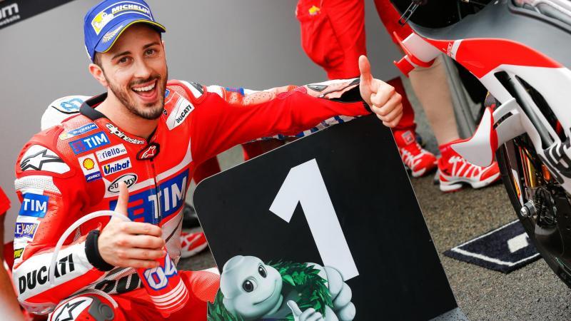 MotoGp, l'italiano Andrea Dovizioso su Ducati vince in Giappone