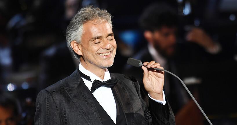 Due concerti di Andrea Bocelli al Teatro di Taormina: è già sold out