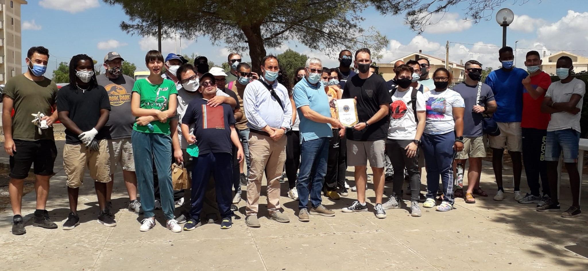 Modica, progetto di solidarietà a favore dell'Anffas: protagonisti militari americani