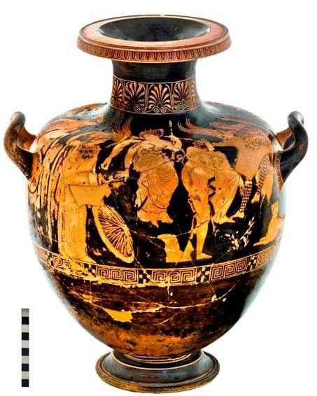 """Modica, l""""L'Hydria"""" risalente al V secolo a. C.  sarà esposta al Museo Civico"""