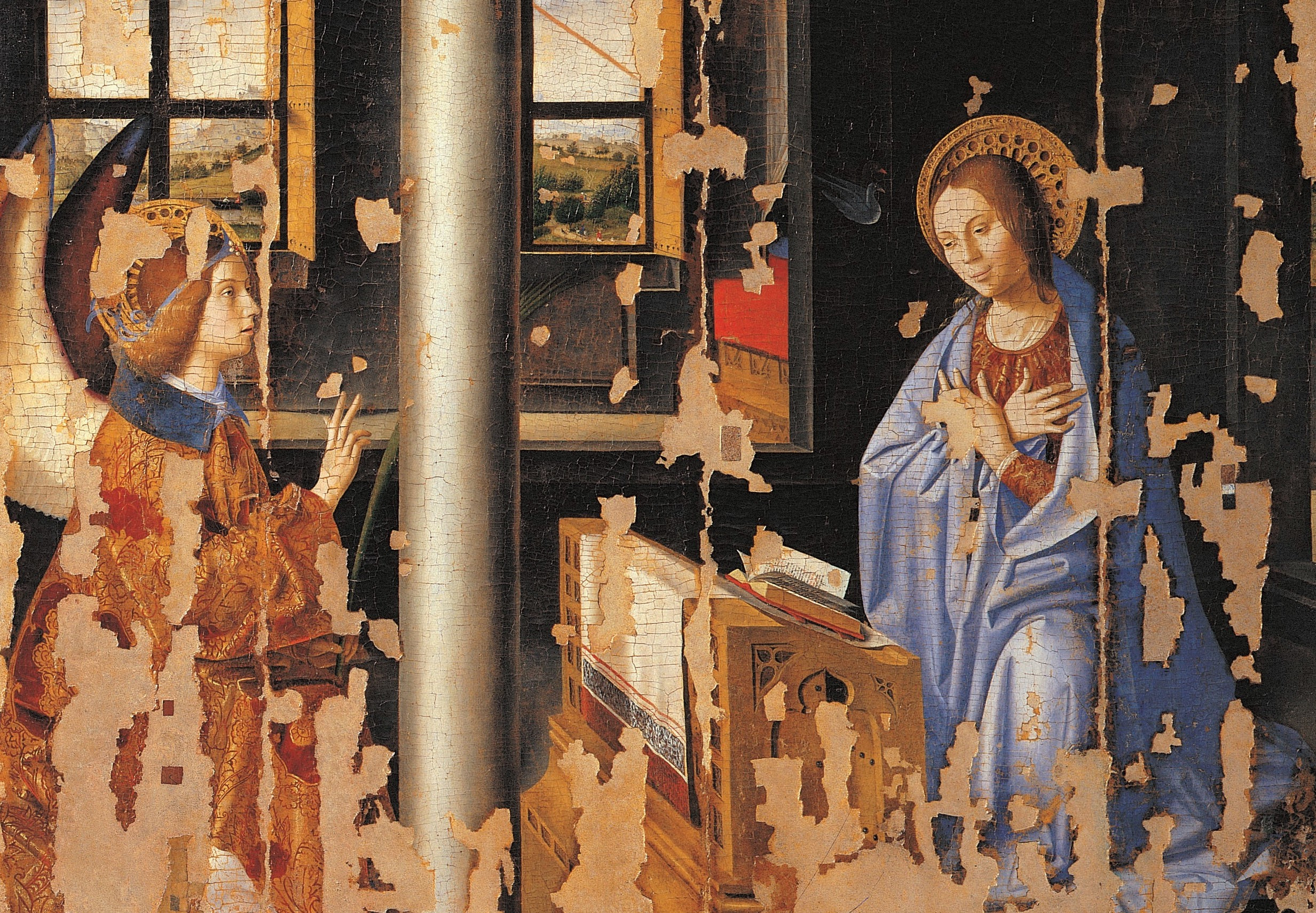 """L'assessore ai Beni culturali fa """"viaggiare"""" l'Annunciazione: in prestito a Palazzolo"""