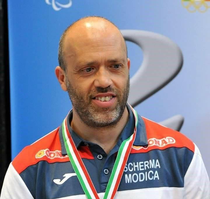 Scherma Modica, spada non vedenti: bronzo per Antonio Carnazza