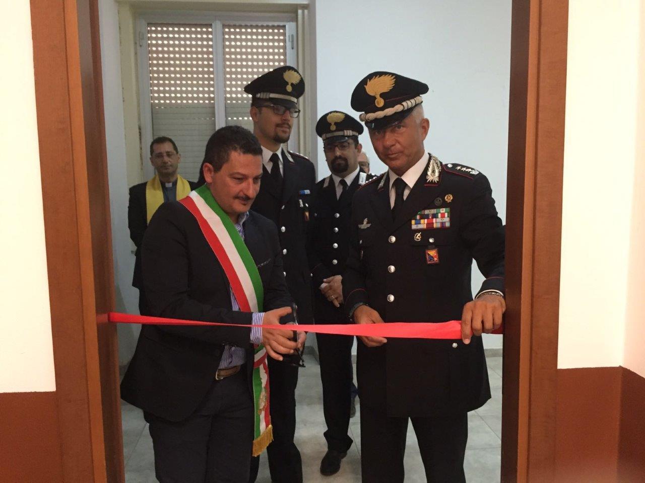 Inaugurato il posto fisso dei Carabinieri a Marzamemi