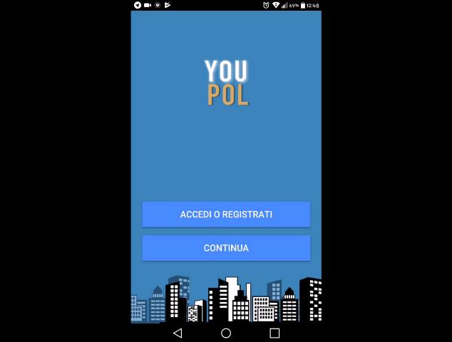 Siracusa, la polizia al Corbino per presentare l'app YouPol