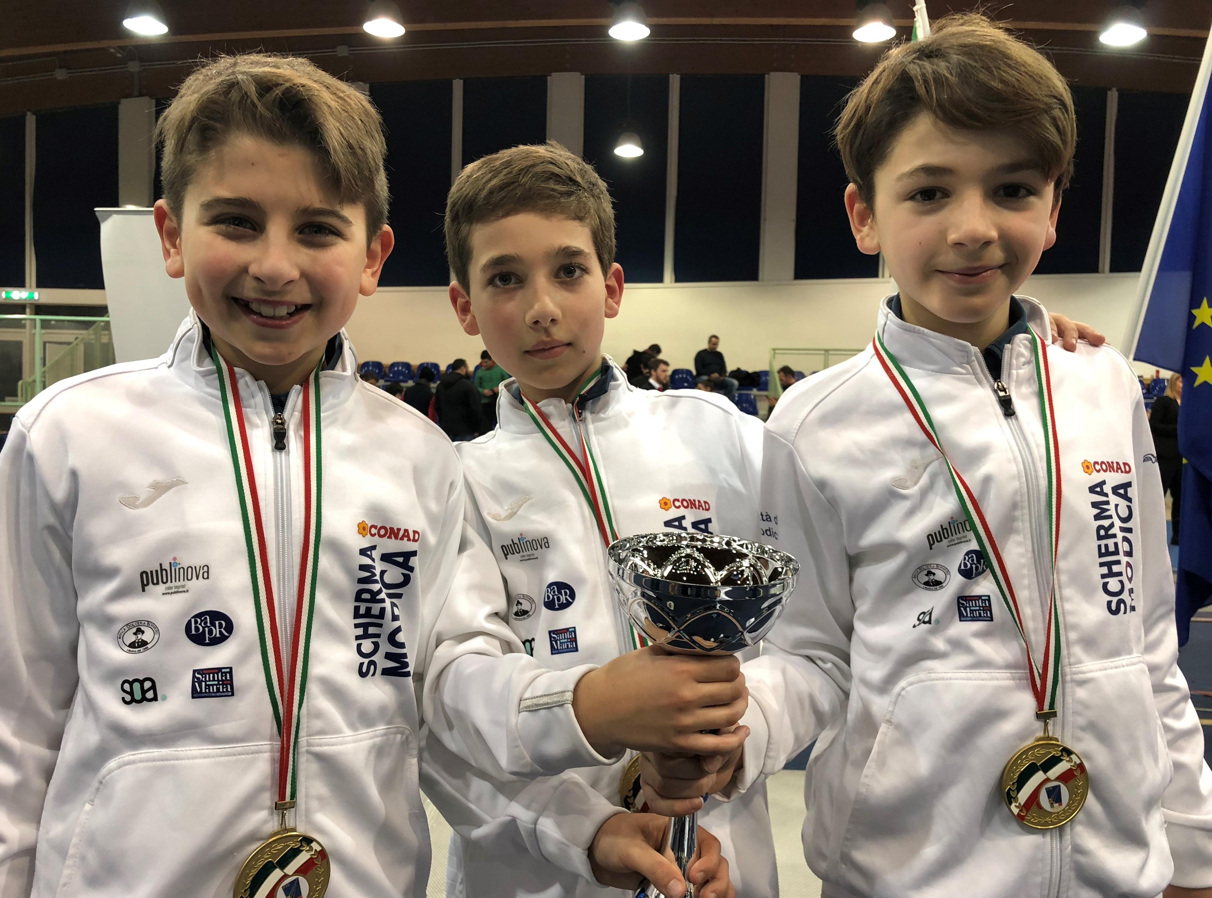 """Scherma Modica, 20 atleti in gara a Treviso per il trofeo """"Kinder + Sport"""""""
