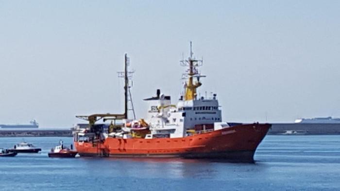 Catania, sequestrata nave Aquarius: 24  gli indagati