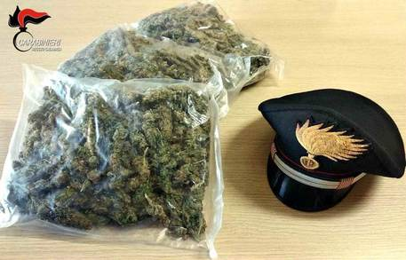 Droga, nascondeva in auto un chilo di marijuana: arrestato nel Reggino