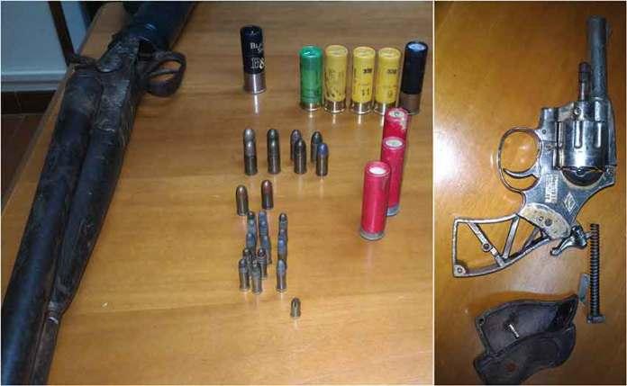 Allevatore nascondeva armi e munizioni: arrestato a Centuripe